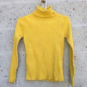 Ralph Lauren Yellow Turtleneck